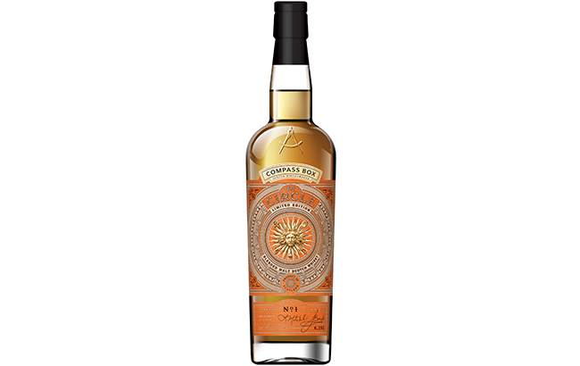 Three Sheets' Rosey Mitchell created Compass Box's The Circle whisky