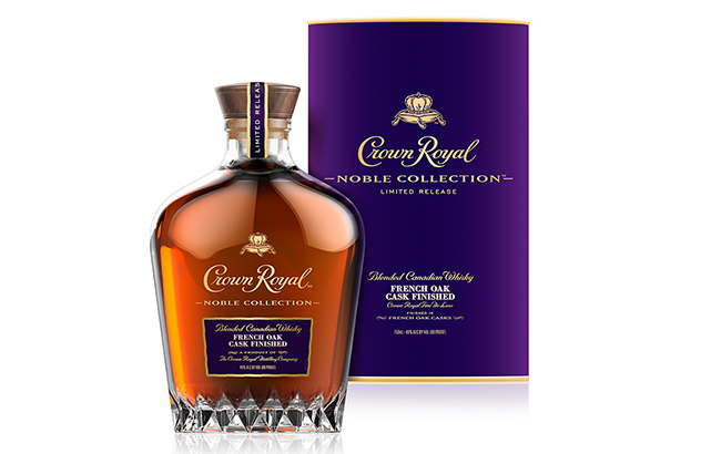 CrownRoyal NobleCollection French Oak Cask Finished is part of the brand's Noble Collection