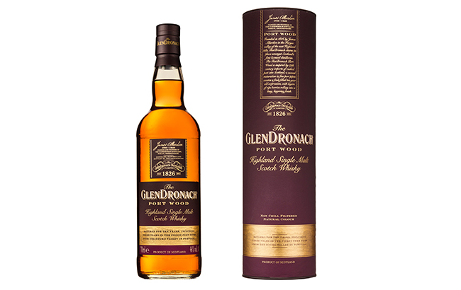 The GlenDronach Port Wood is bottled at 46% abv