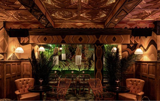 Eric Lorincz's Kwānt in London won Best New International Cocktail Bar