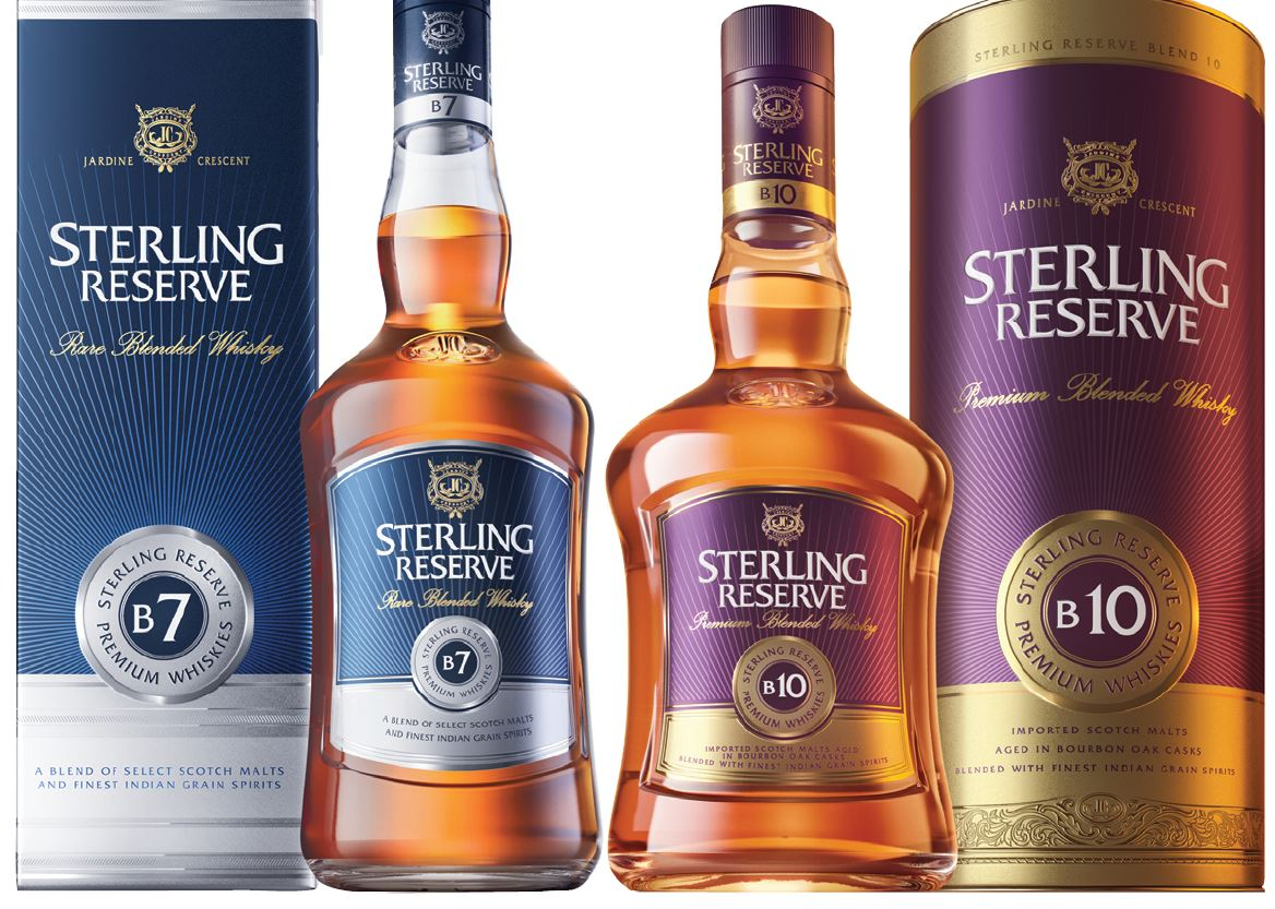 Indian Whisky Brand Champion 2019 Sterling Reserve