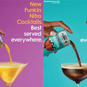 Funkin Nitro Canned Cocktails to launch £1m campaign