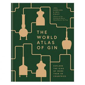 Harrison and Ridley write World Atlas of Gin