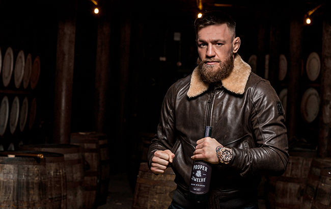 Conor McGregor of Proper No. Twelve