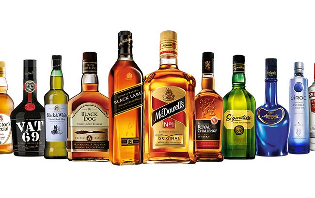 Diageo India brands