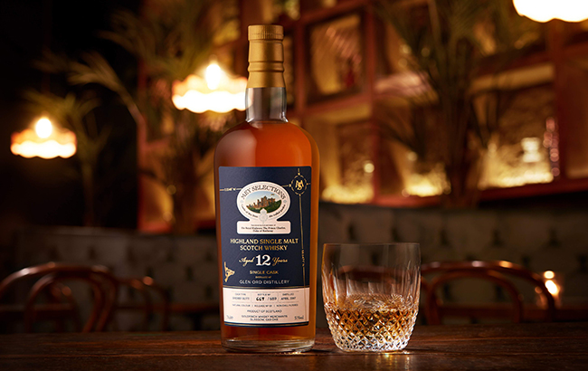 Mey Selections Rare Cask Release is a 12-year-old single cask whisky from Glen Ord distillery