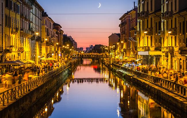 Top Five Bars In Milan Italy