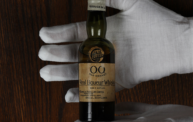 Old Orkney whisky liqueur miniature