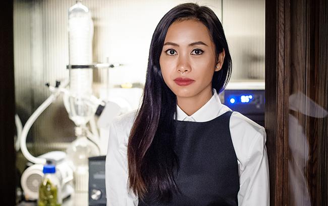 Suwincha Singsuwan, head bartender at Bangkok's Rabbit Hole bar