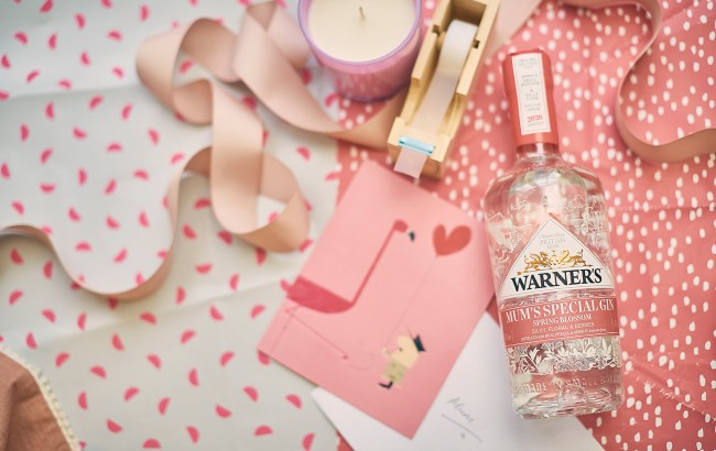 Warner's SPRING BLOSSOM Gin