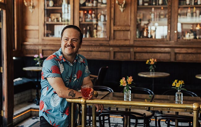Erick Castro, co‐founder of San Diego bar Polite Provisions