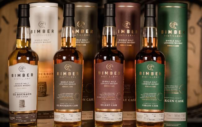 Bimber whiskies