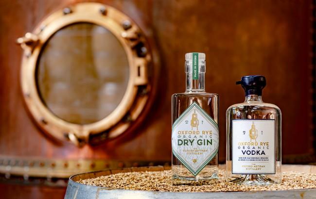 Oxford Artisan Distillery gin vodka