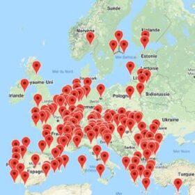 Spirits Europe GI map