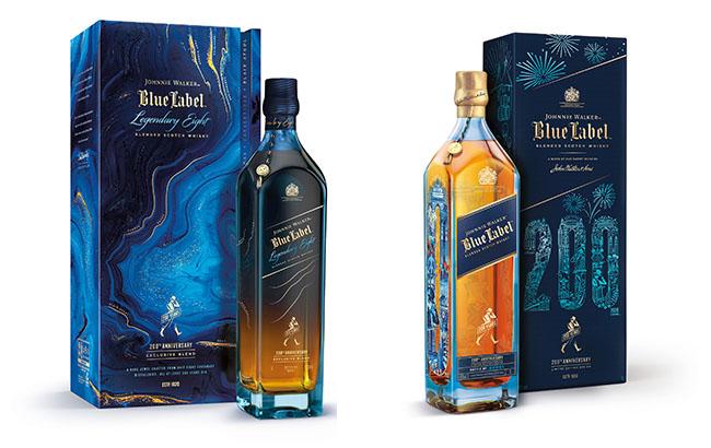 Johnnie Walker creates 200th birthday bottlings