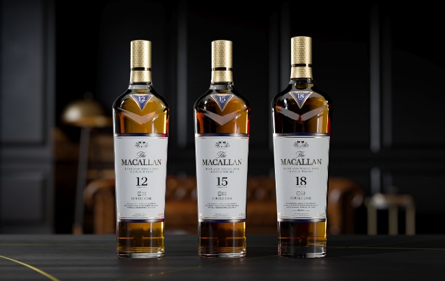 Macallan Double Cask whiskies