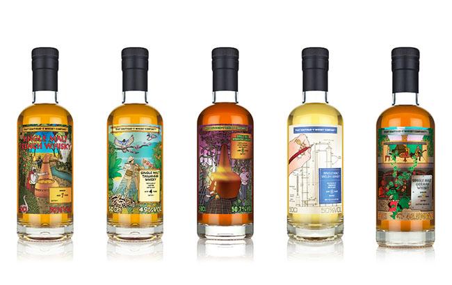 Boutique-y unveils World Series whisky range