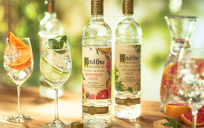 Ketel One taps in to the botanical trend