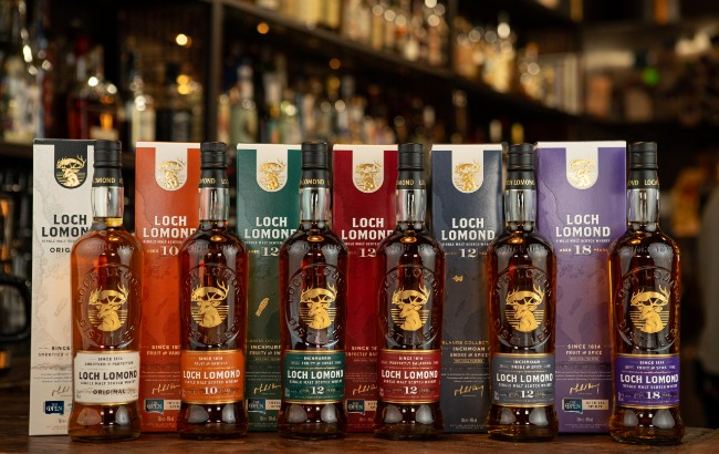 Loch Lomond Whiskies redesign