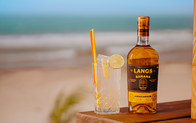Langs Banana Rum is the first flavoured rum in Ian Macleod's portfolio