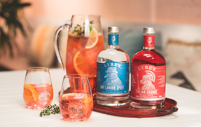 Alcohol-free drinks brand Lyre's
