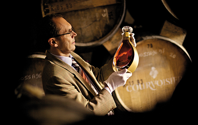 Ahead of the Courv: Patrice Pinet, Courvoisier master blender