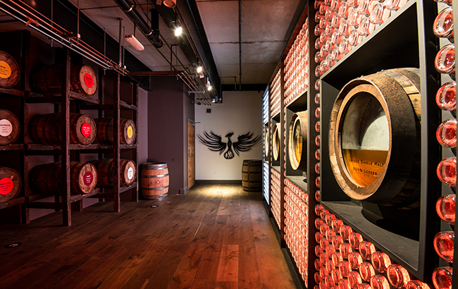 Old story: Teeling's maturation centre