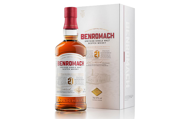 The 21-year-old whisky is the latest permanent addition to the Benromach range