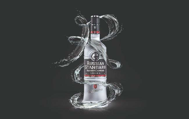 Russian standard new bottle