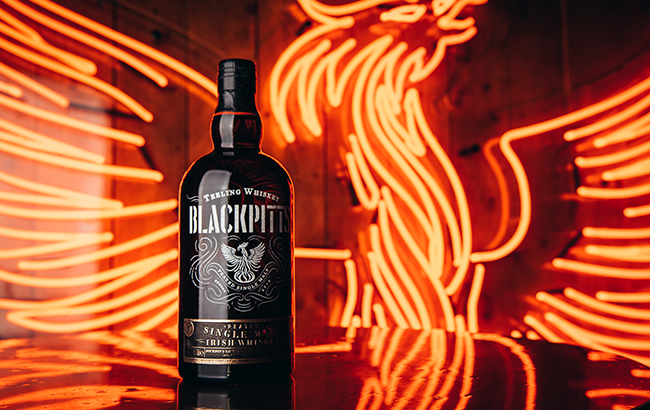 "Blackpitts Peated Single Malt is described as a ""truly unconventional Irish whiskey"""