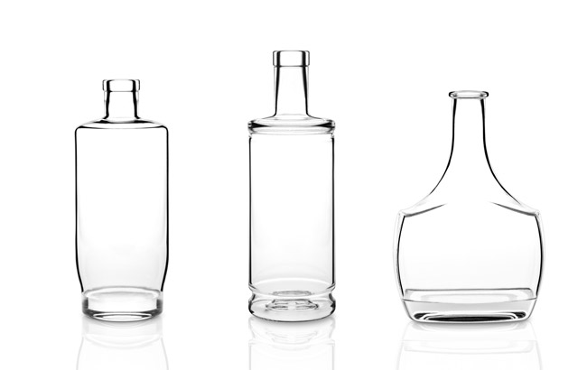 Bruni Glass has created 15 bottles under its Sublime collection