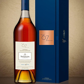 The 67 Edition was blended by Delamain cellar master Dominique Touteau
