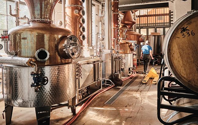 Still life: ELLC's distillery