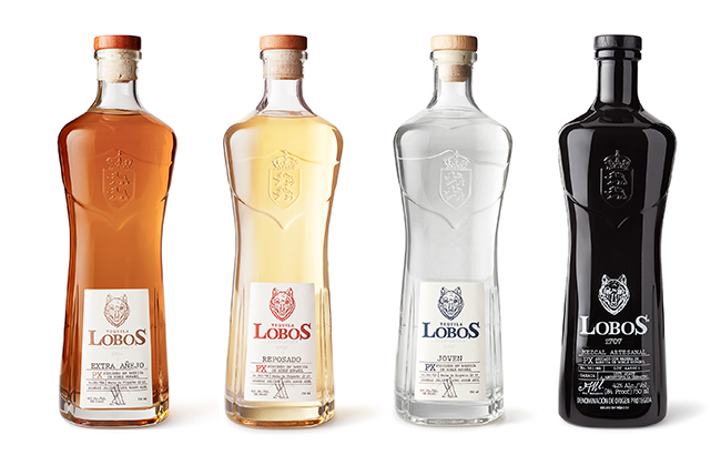 The Lobos 1707 range includes three Tequilas and a mezcal