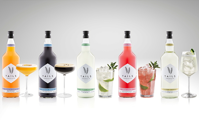 The Tails range of bottled cocktails are made with Bacardi's portfolio of spirits