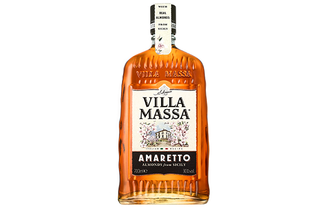 Villa Massa Amaretto is recommended served over ice or as a digestif