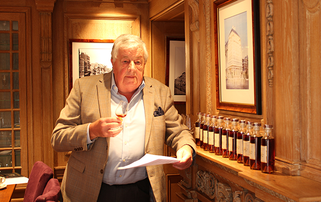 David Baker, managing director of Hermitage Cognacs