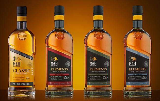 Milk & Honey's portfolio includes the Classic single malt whisky and The Element Series