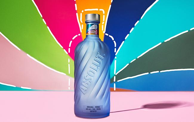 Absolut 2021 edition bottle