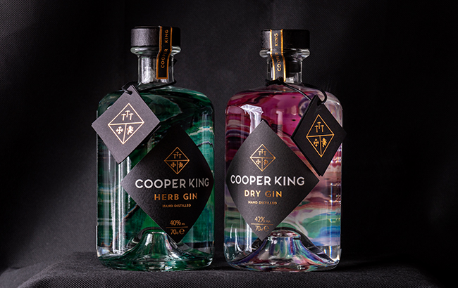 Cooper King's Herb and Dry gins