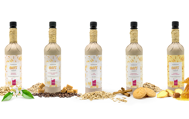 The Oats Liqueur comes in five flavours