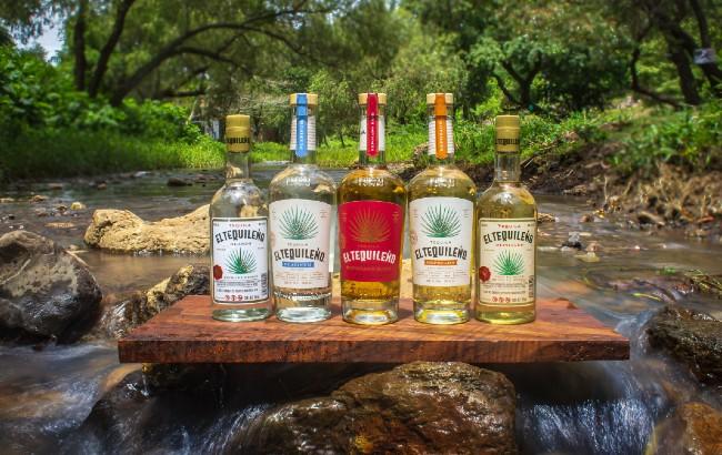 El Tequileno Tequila line-up
