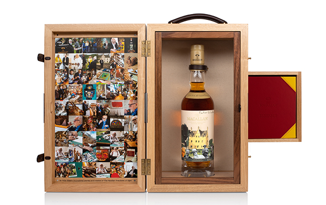 Macallan's A New Era of Advertising bottle