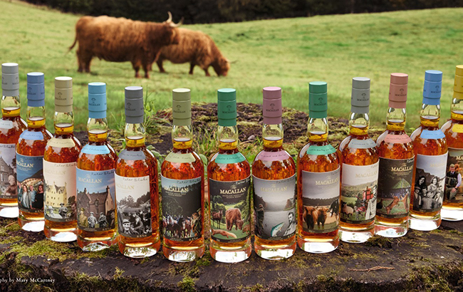 Macallan's Anecdotes of Ages Collection