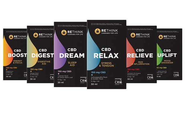 Rethink is South Africa's leading cannabis wellness brand