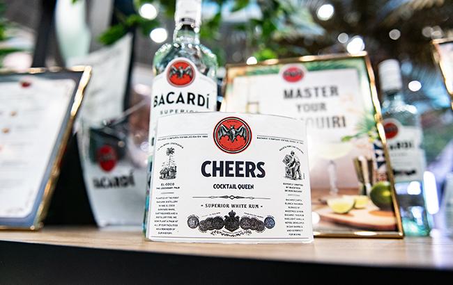 Bacardi rum labels