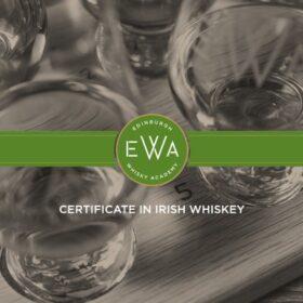 Certificate in Irish whiskey