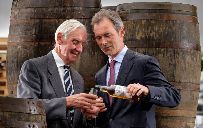Rupert Patrick and Alastair Eadie