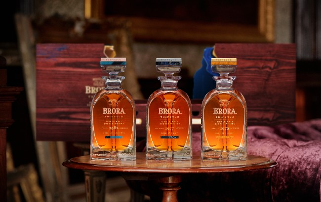 Brora Triptych whisky