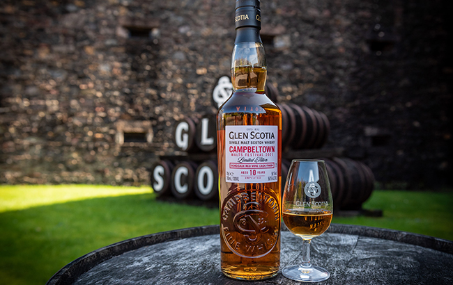 Glen Scotia festival whisky